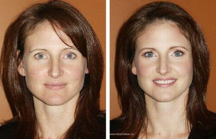 Artista da maquiagem faz incríveis transformações 12