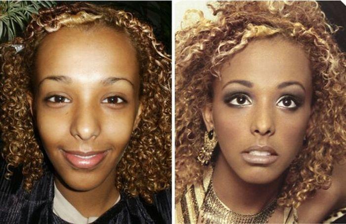 Artista da maquiagem faz incríveis transformações 17