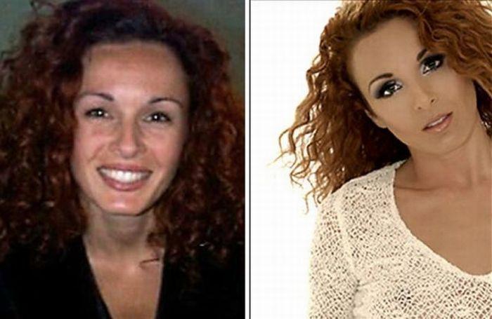 Artista da maquiagem faz incríveis transformações 18