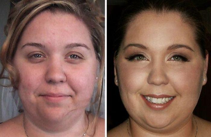 Artista da maquiagem faz incríveis transformações 19