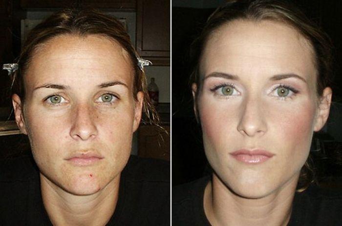 Artista da maquiagem faz incríveis transformações 22