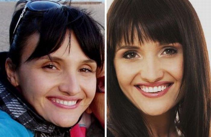 Artista da maquiagem faz incríveis transformações 24