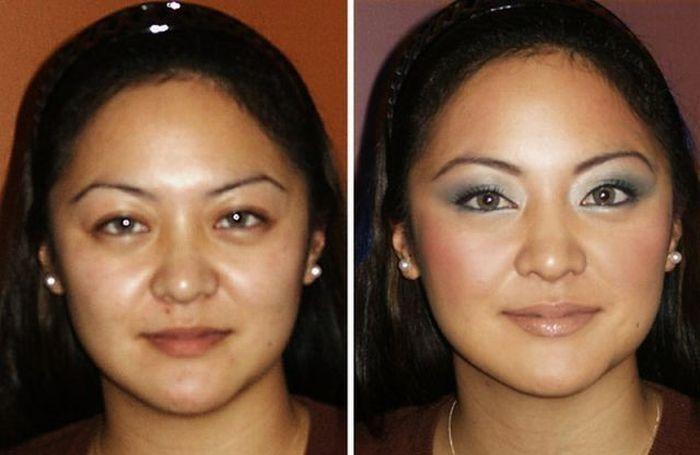 Artista da maquiagem faz incríveis transformações 26