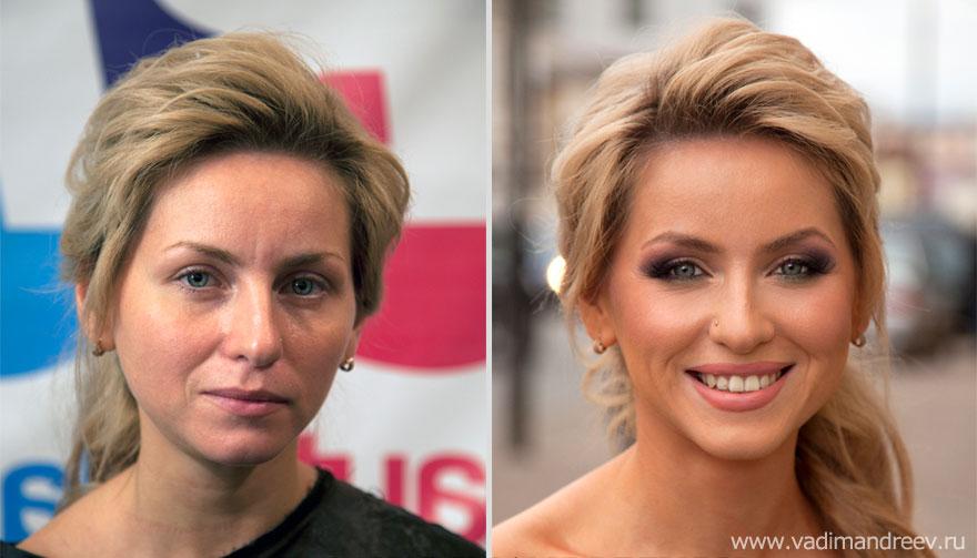 Antes e depois de milagres da maquiagem 2 01