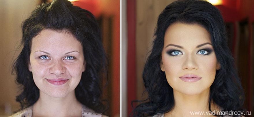 Antes e depois de milagres da maquiagem 2 05