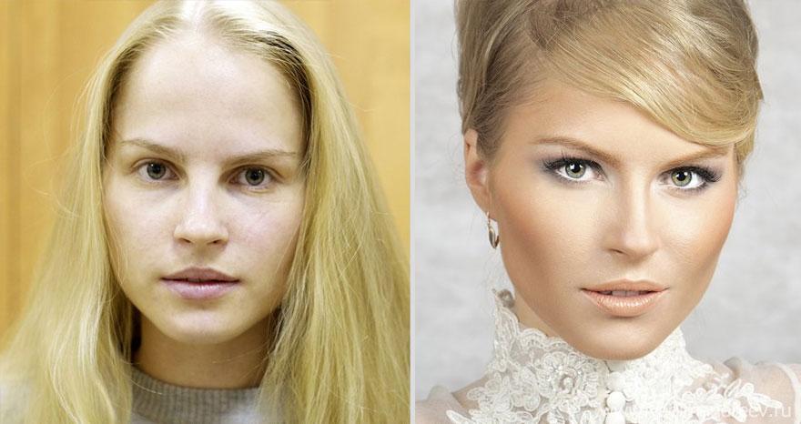 Antes e depois de milagres da maquiagem 2 10