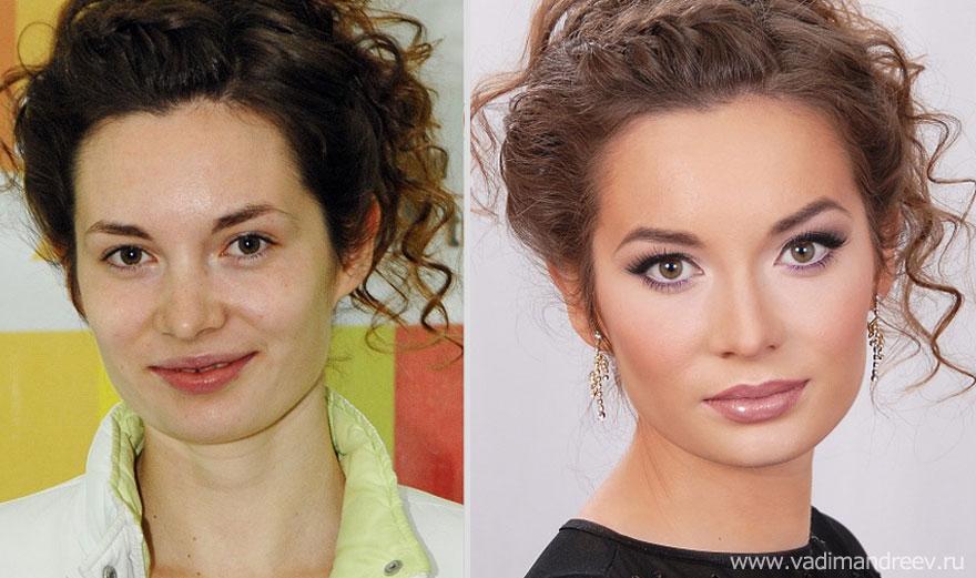 Antes e depois de milagres da maquiagem 2 16