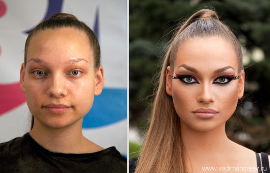 Antes e depois de milagres da maquiagem 2 18