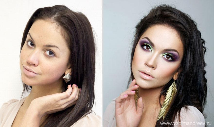 Antes e depois de milagres da maquiagem 2 20