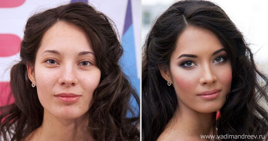 Antes e depois de milagres da maquiagem 2 24