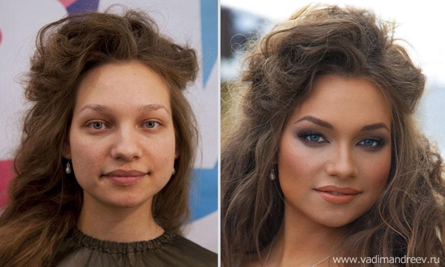 Antes e depois de milagres da maquiagem 2 26