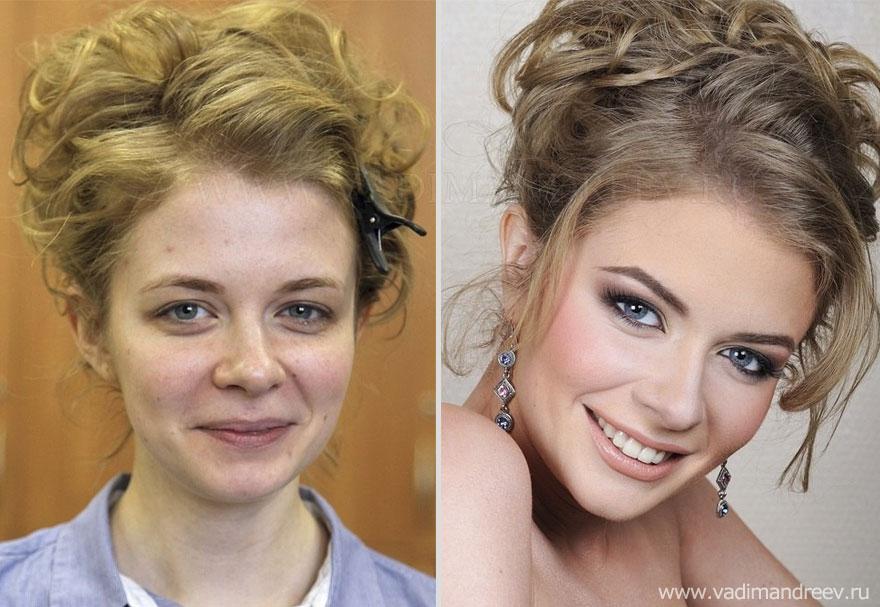 Antes e depois de milagres da maquiagem 2 30
