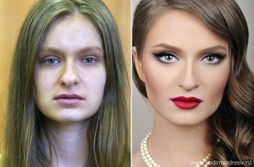 Antes e depois de milagres da maquiagem 2 32