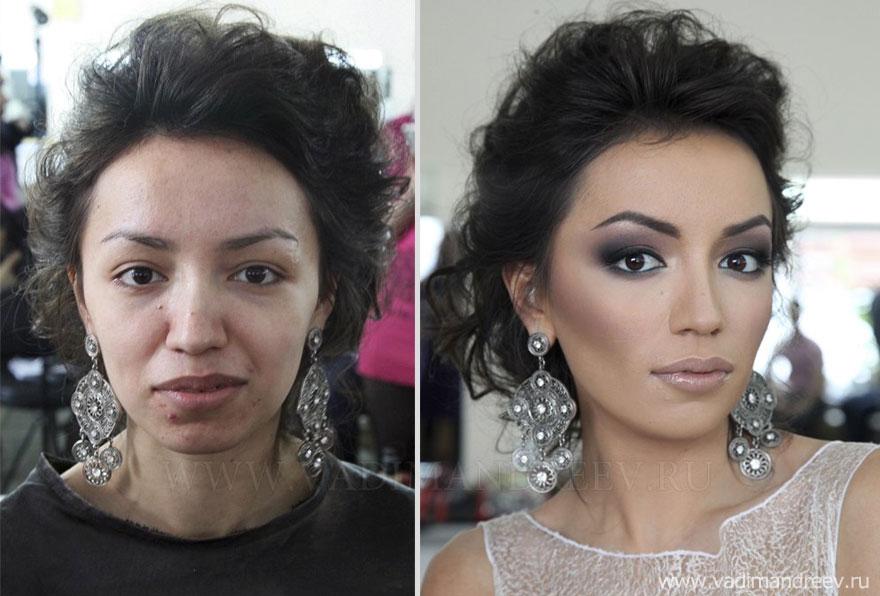Antes e depois de milagres da maquiagem 2 33