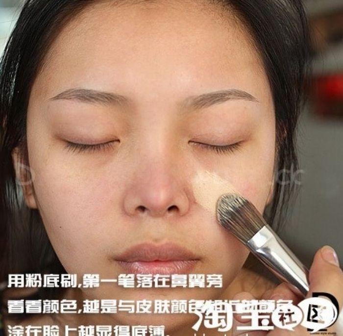 Gatinhas asiáticas antes e depois da maquiagem 2 04
