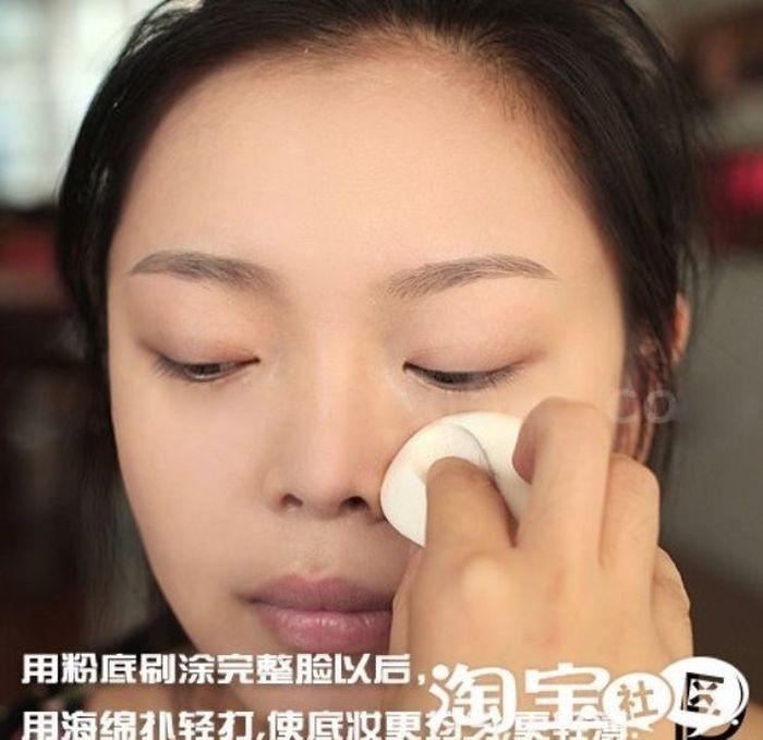 Gatinhas asiáticas antes e depois da maquiagem 2 05