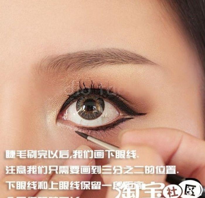 Gatinhas asiáticas antes e depois da maquiagem 2 09