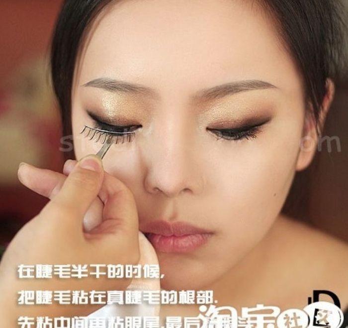 Gatinhas asiáticas antes e depois da maquiagem 2 10