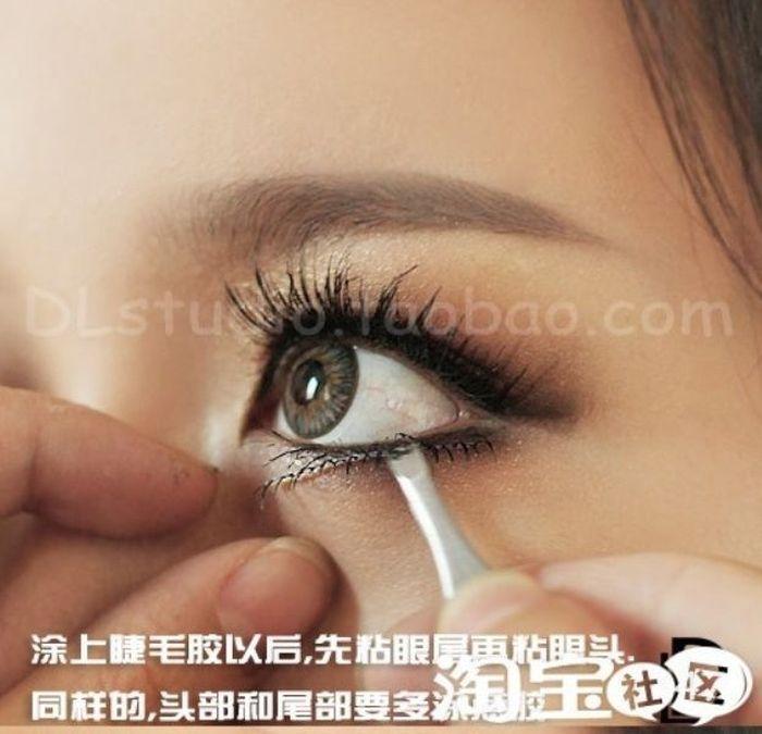 Gatinhas asiáticas antes e depois da maquiagem 2 11