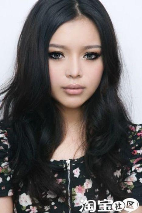 Gatinhas asiáticas antes e depois da maquiagem 2 14