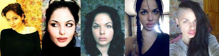 Jessica Rabbit da vida real tem os maiores lábios do mundo 14