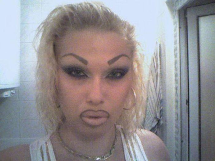 Marias beiçudas do mundo real, uma overdose de silicone 18