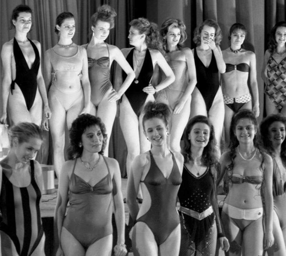 Primeiro concurso de beleza da União Soviética em 1988