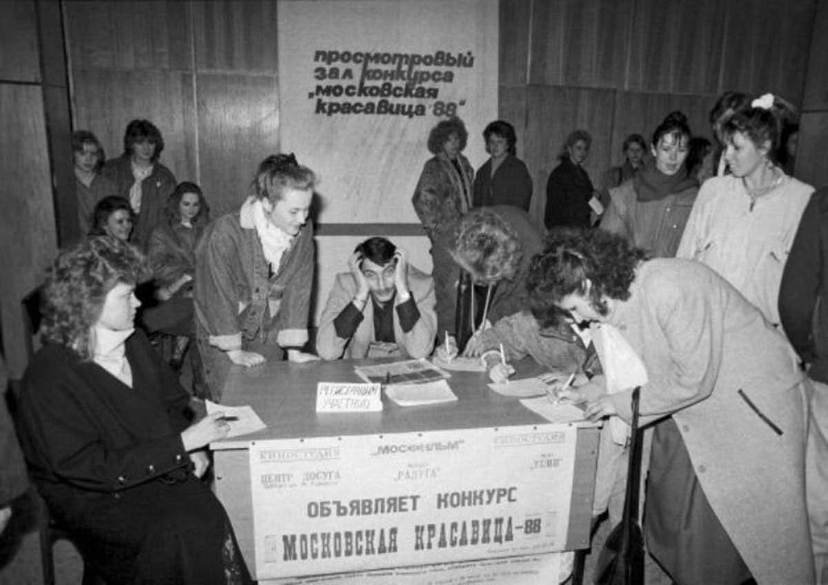 Primeiro concurso de beleza da União Soviética em 1988 02