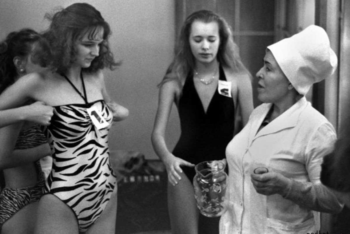 Primeiro concurso de beleza da União Soviética em 1988 09