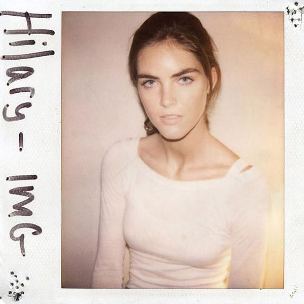 Polaroids de modelos famosas sem maquiagem