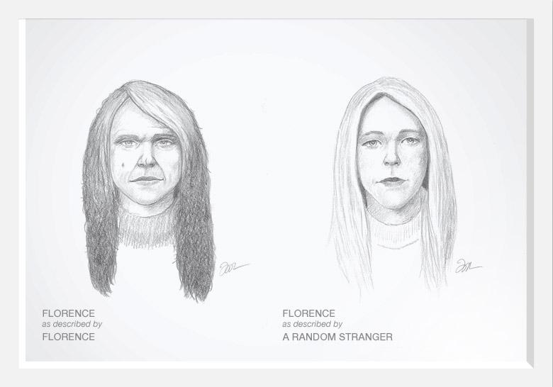 Experimento com artista do esboço prova que as mulheres são mais bonitas do que pensam 02
