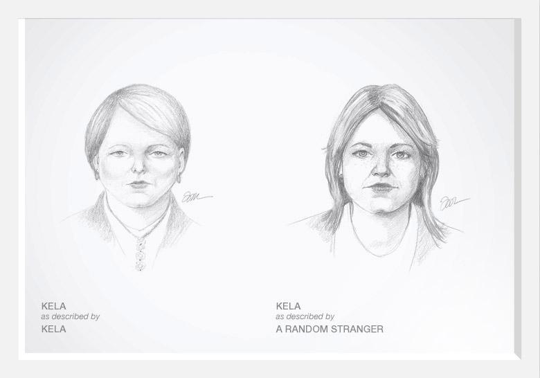 Experimento com artista do esboço prova que as mulheres são mais bonitas do que pensam 04