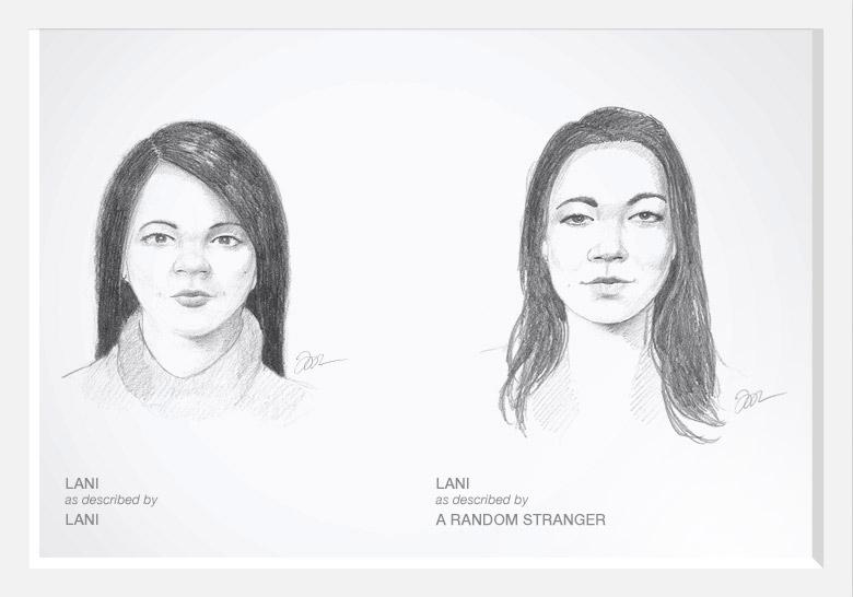 Experimento com artista do esboço prova que as mulheres são mais bonitas do que pensam 05