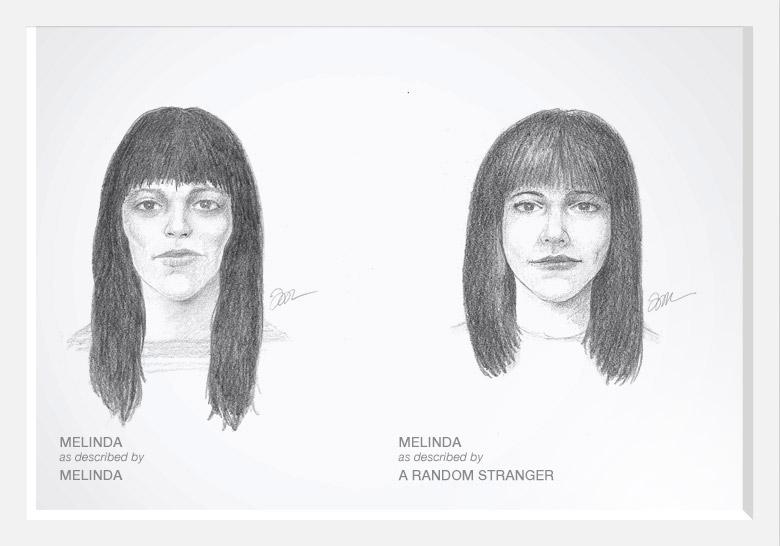 Experimento com artista do esboço prova que as mulheres são mais bonitas do que pensam 06