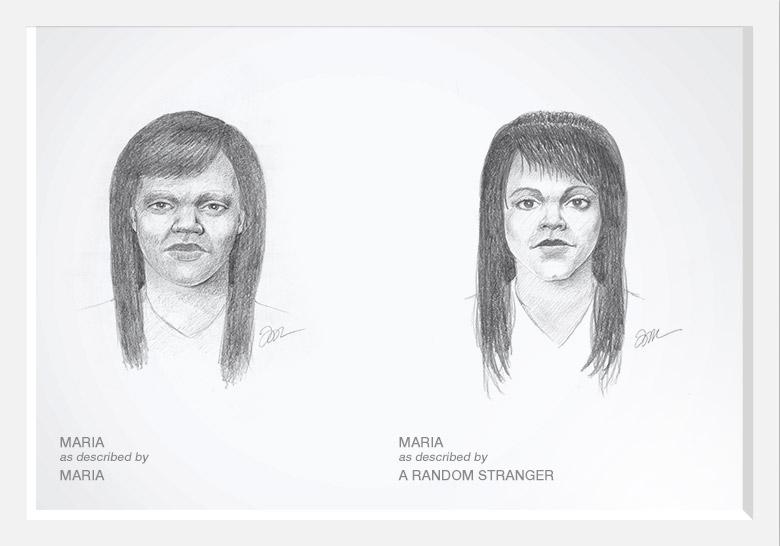 Experimento com artista do esboço prova que as mulheres são mais bonitas do que pensam 07