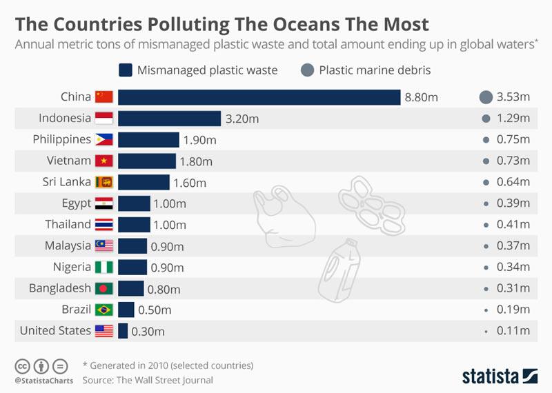 40 kg de sacolas plásticas foi a causa da morte desta baleia nas Filipinas