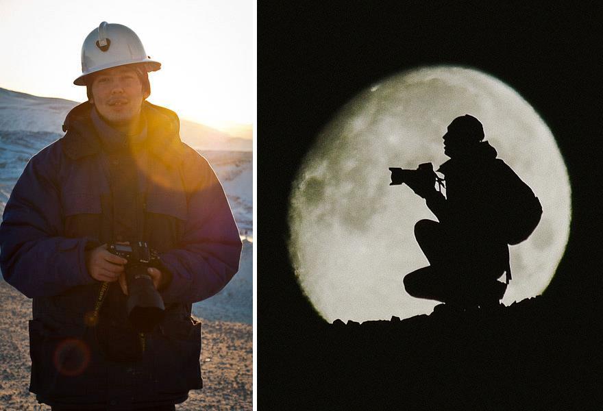 Engenheiro russo passa suas horas de folga tirando fotos de raposas no Círculo Ártico 31