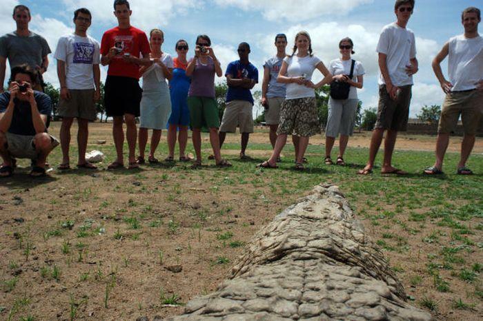 Vila Paga, um lugar onde crocodilos e homens vivem em perfeita harmonia 07