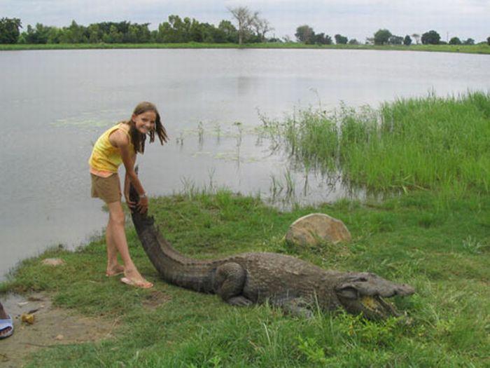 Vila Paga, um lugar onde crocodilos e homens vivem em perfeita harmonia 12