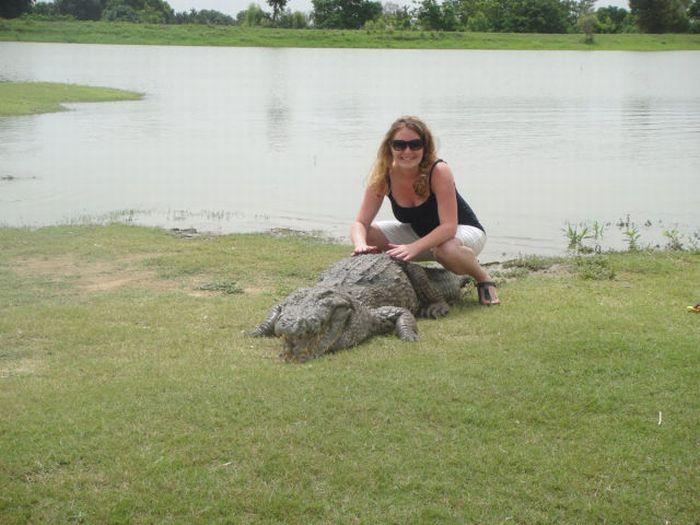 Vila Paga, um lugar onde crocodilos e homens vivem em perfeita harmonia 13