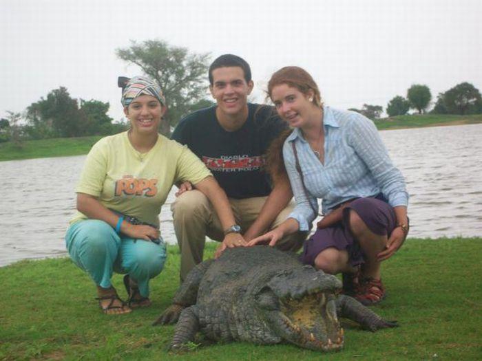 Vila Paga, um lugar onde crocodilos e homens vivem em perfeita harmonia 14