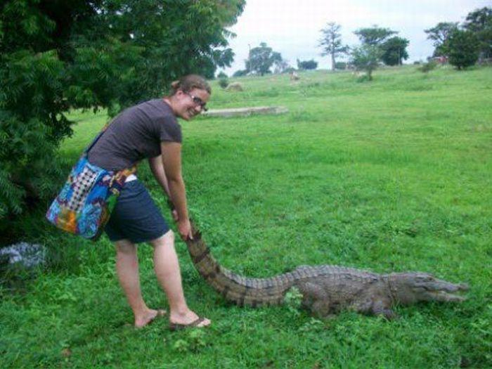 Vila Paga, um lugar onde crocodilos e homens vivem em perfeita harmonia 15