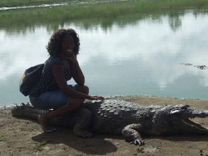 Vila Paga, um lugar onde crocodilos e homens vivem em perfeita harmonia 19