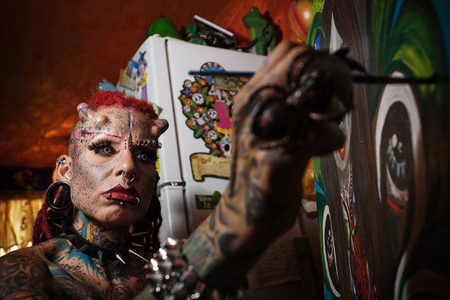 A vampira tatuada 11