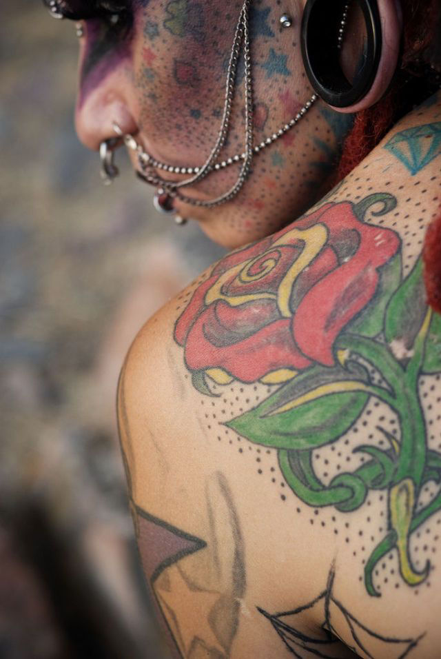 A vampira tatuada 14
