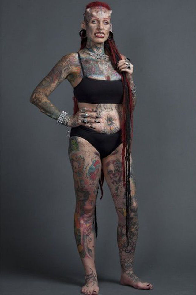 A vampira tatuada 17