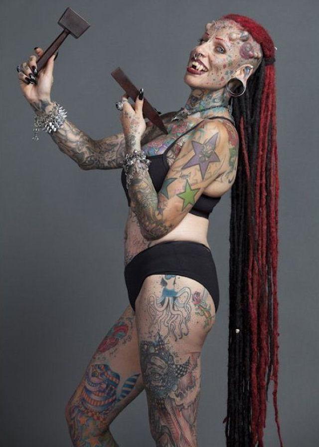 A vampira tatuada 20