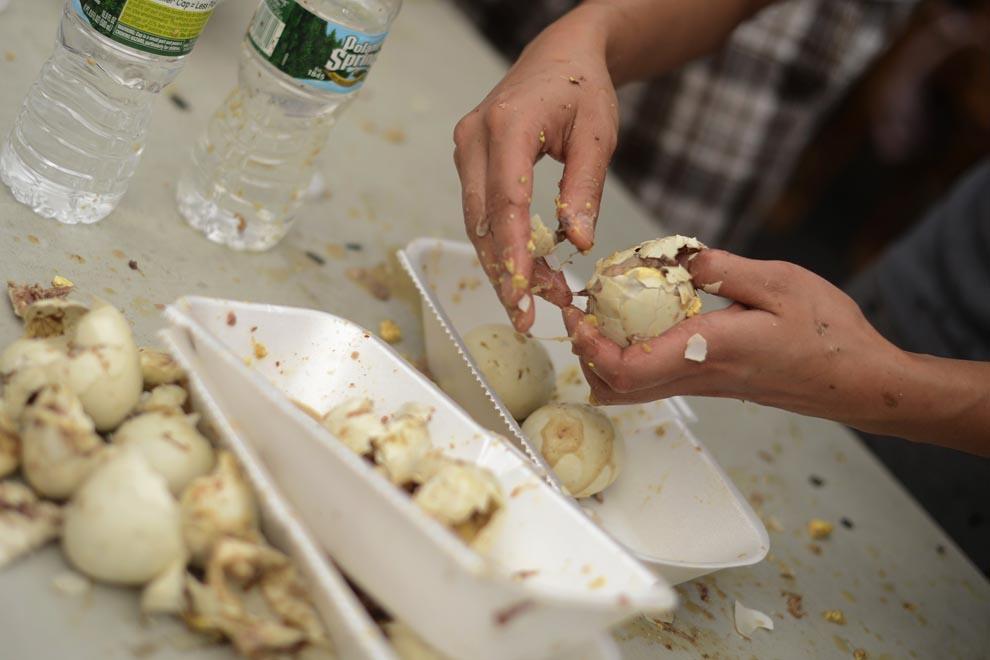 Campeonato de degustação de ovo choco 01