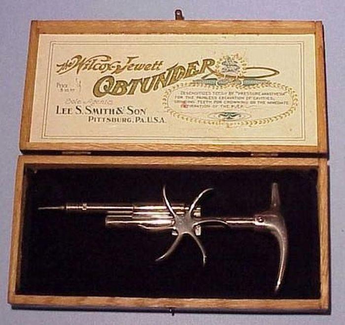 Assustadoras ferramentas odontológicas do passado 09