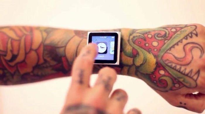 Tatuador implanta ímãs no pulso para poder usar iPod 04